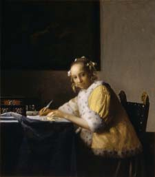 Vermeer's A Lady Writing for web