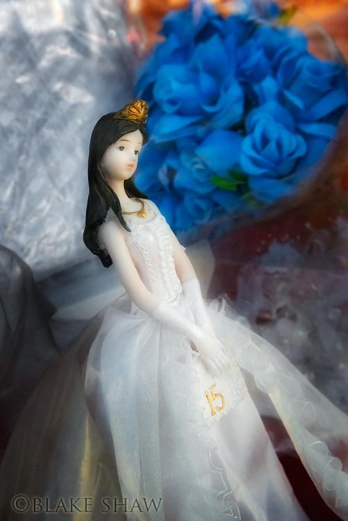 Quincinera doll