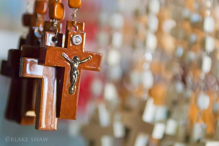 Izamal souvenir crucifixes