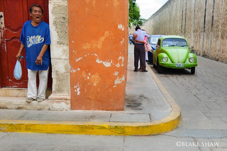 Street scene campeche