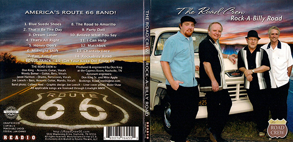 Rockabilly cd cover 600