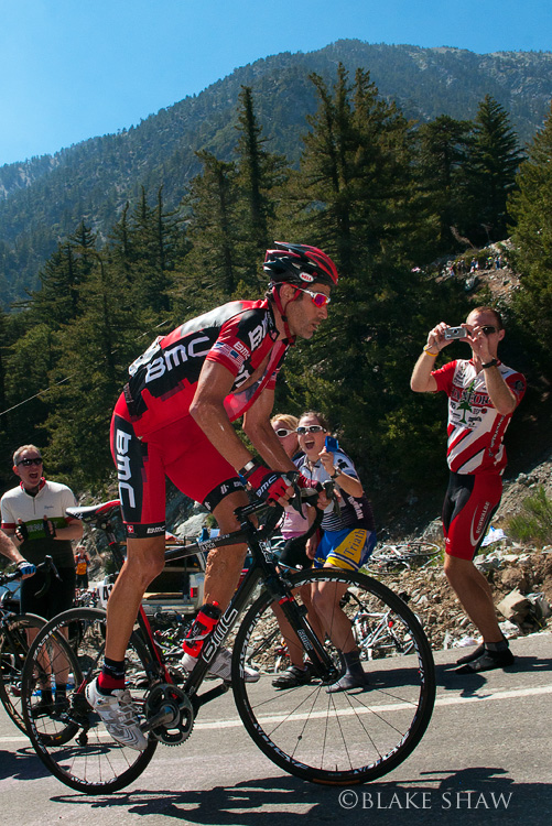 George hincapie on baldy
