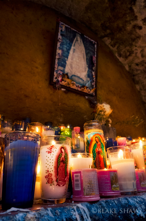 Candles for virgin