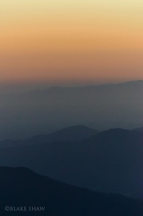 Palomar dusk