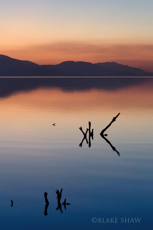 Salton sea sunset copy