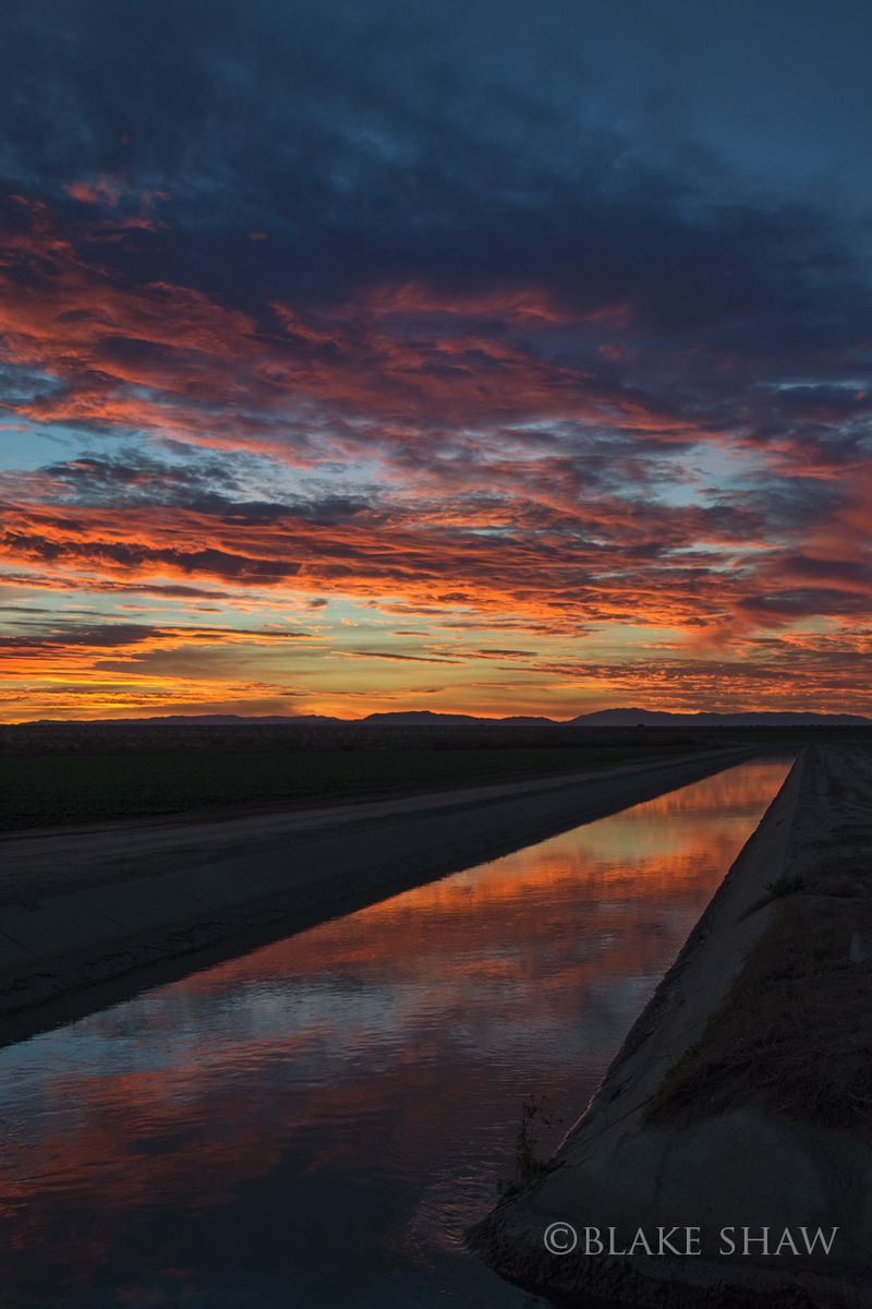 Imperial valley sunset