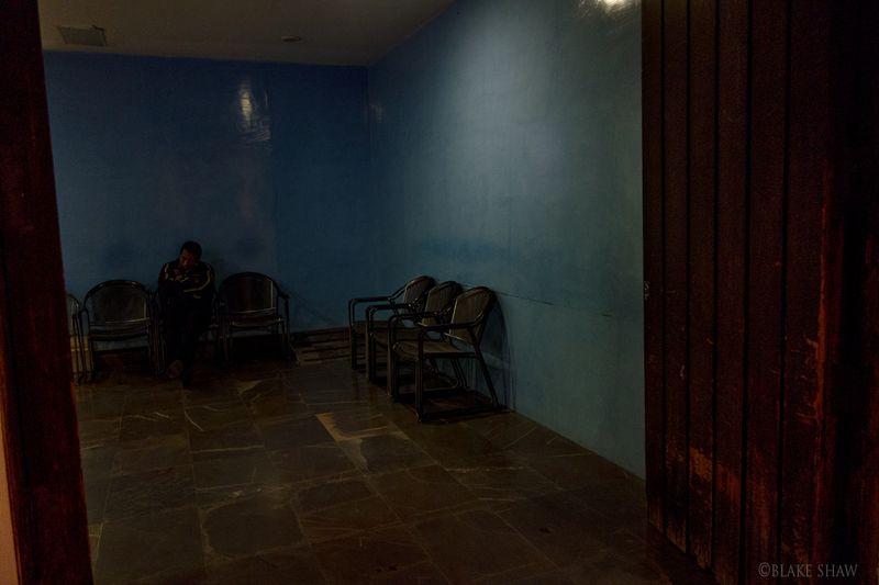Waiting in oaxaca
