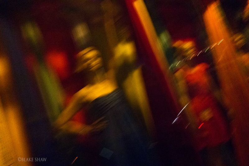Oaxaca night window