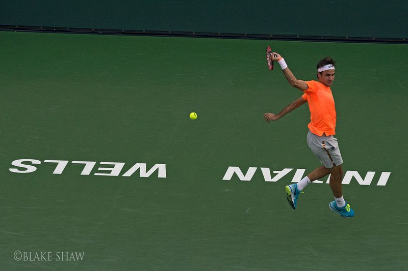 Federer backhand indian wells
