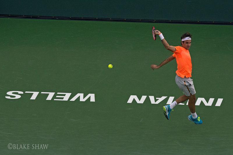 Federer backhand indian wells