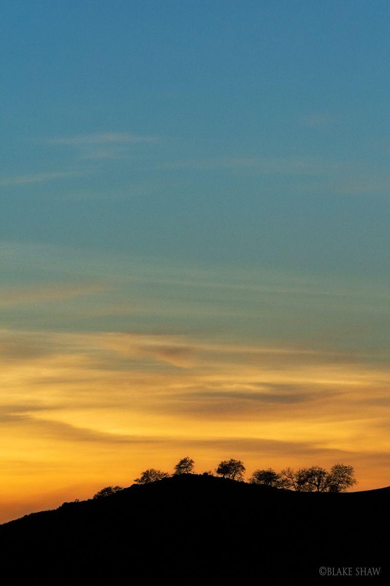 Ramona sunset