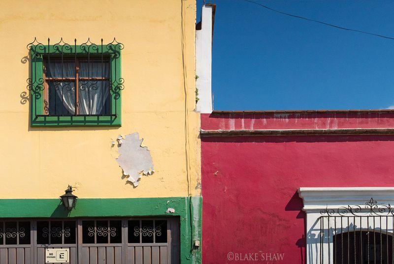 Oaxaca walls