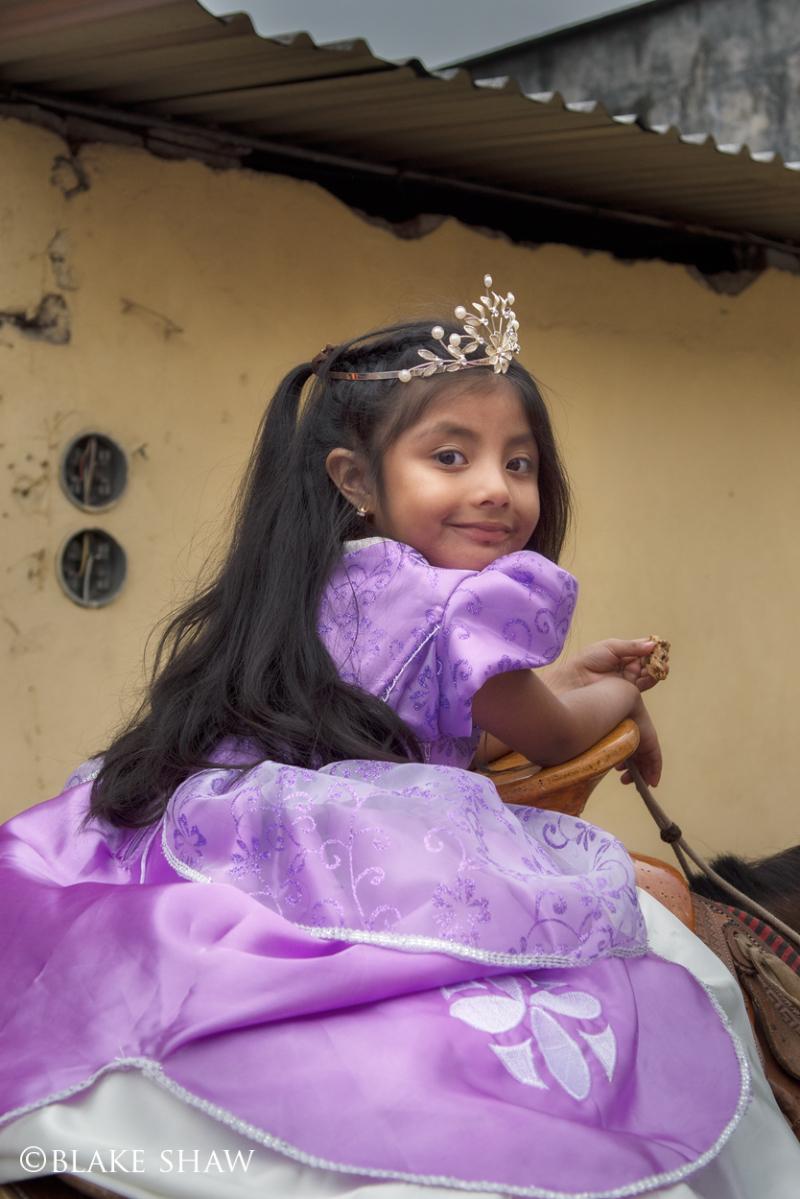 Xico cabalgata princess