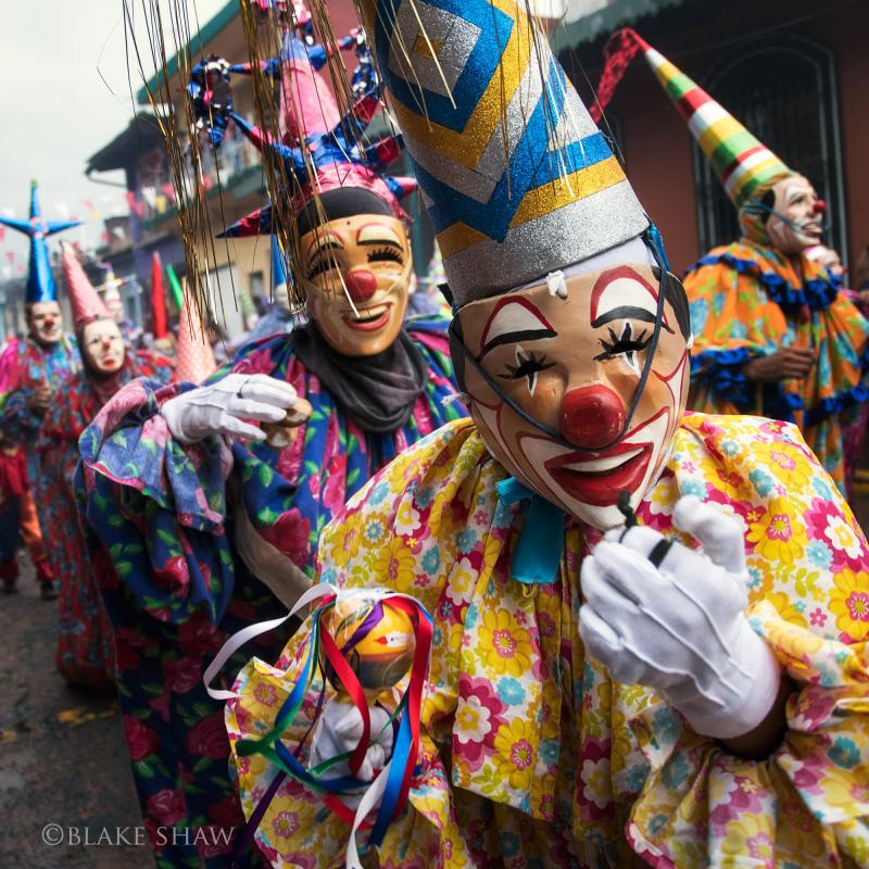 Coatepec clowns 3