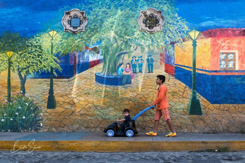 Jose duran mural ajijic
