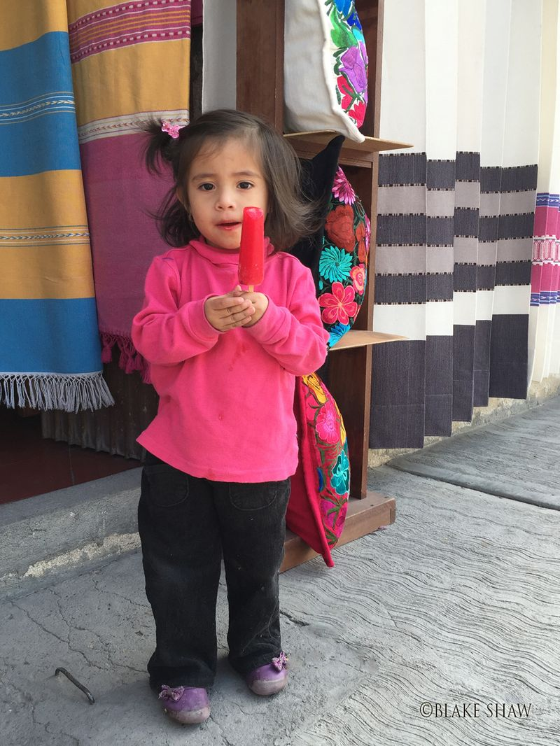 Oaxaca popsicle
