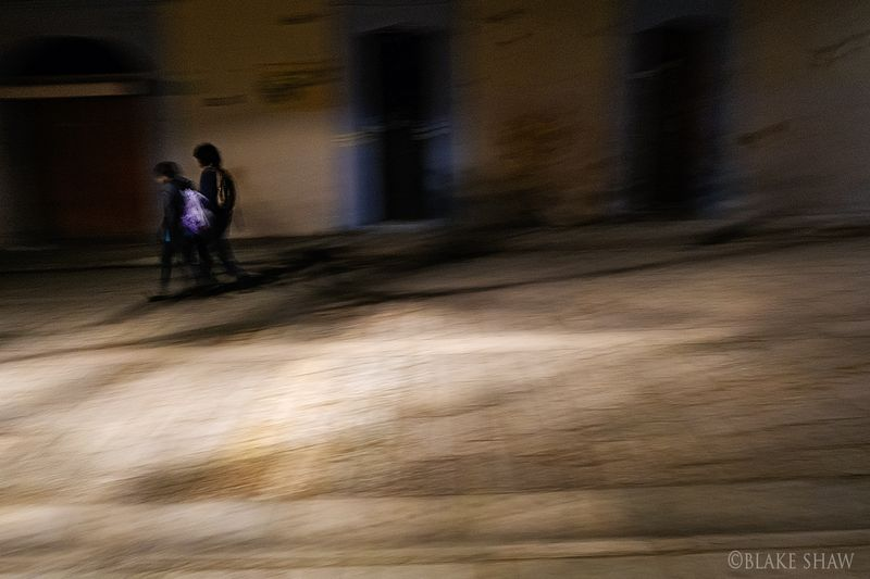 Night stroll oaxaca