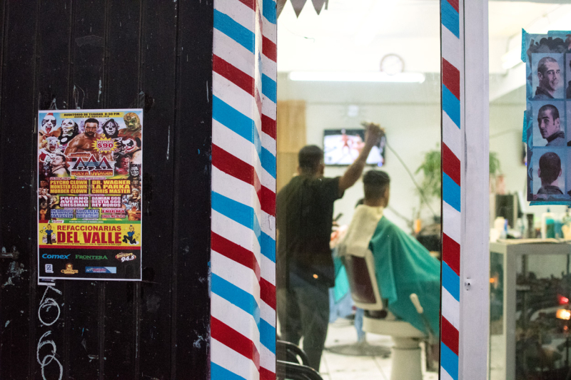 Tijuana barber shop