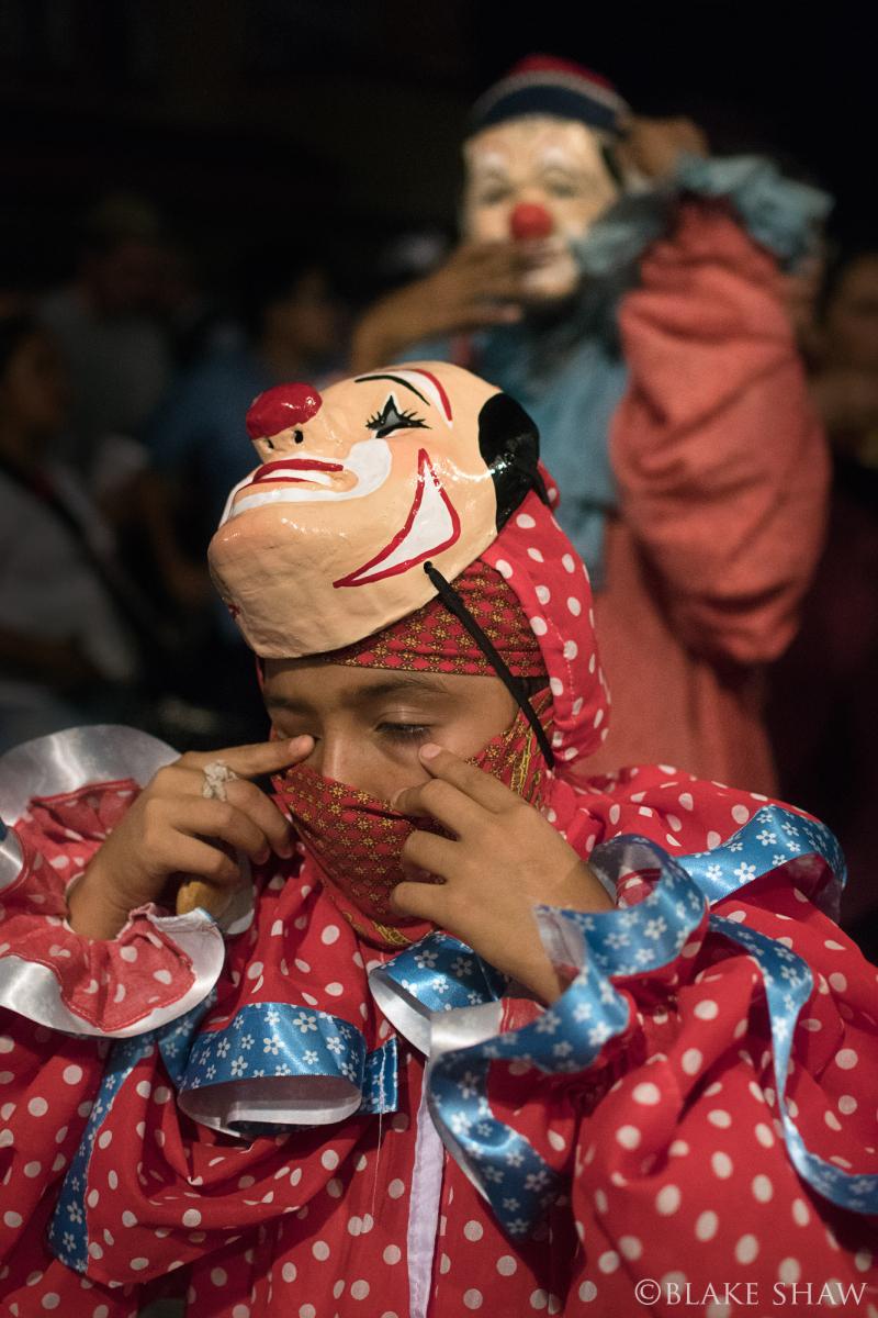 Coatepec clown boy