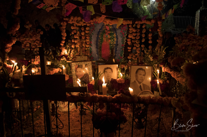 Janitzio shrine day of the dead copy