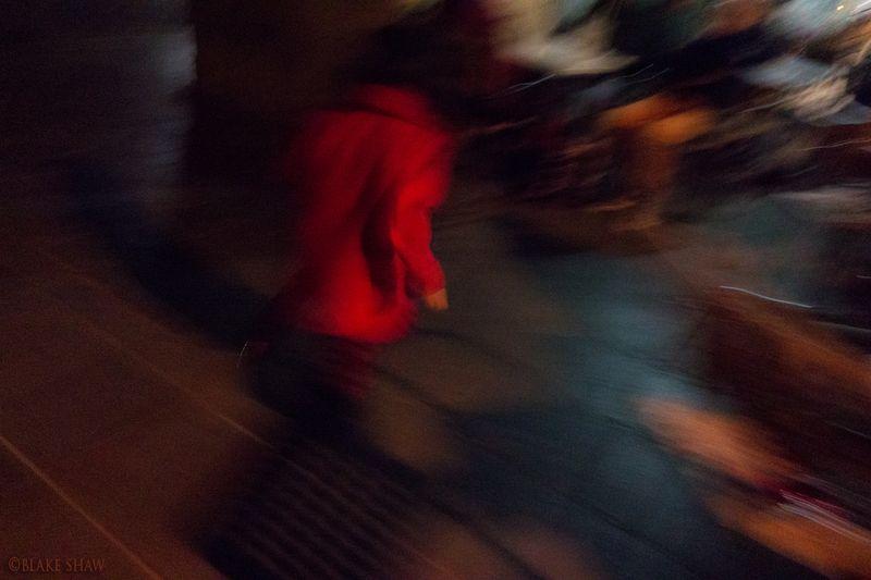 Red jacket oaxaca