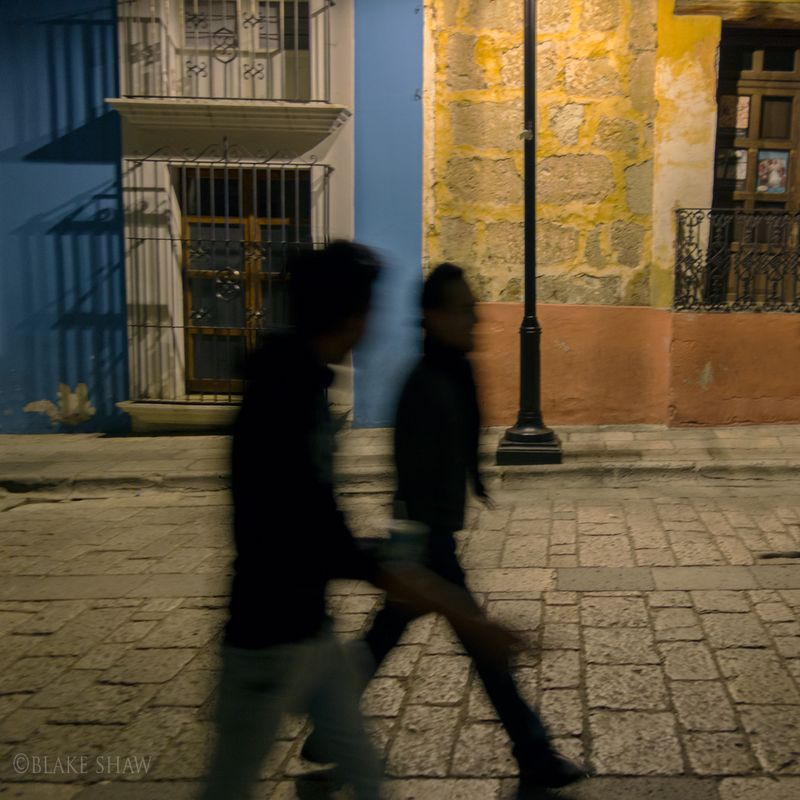 Oaxaca night walkers
