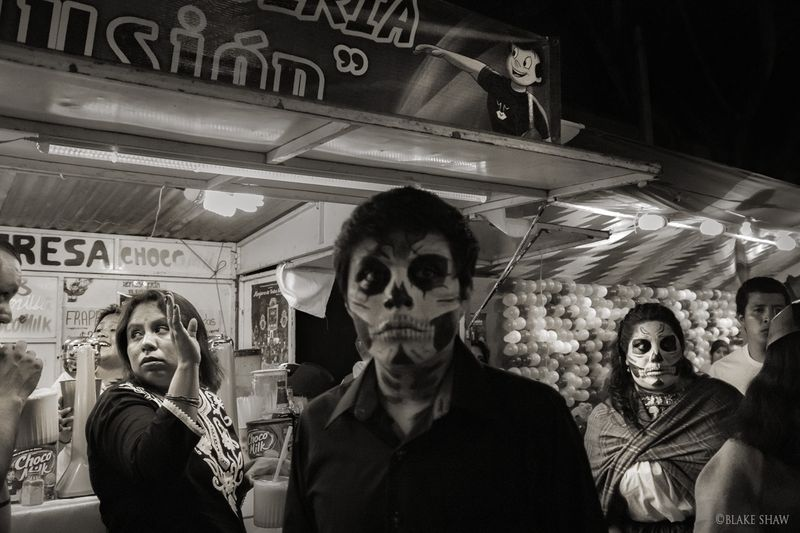 Day of the dead faces 2