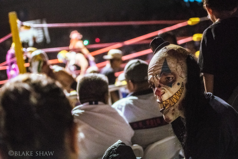 Ghoul fan lucha libre