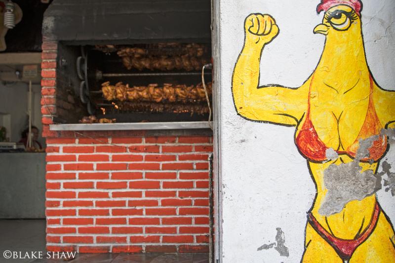 Pollo en humantla