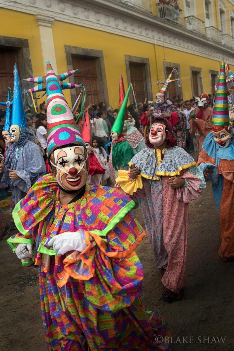 Coatepec clowns 2