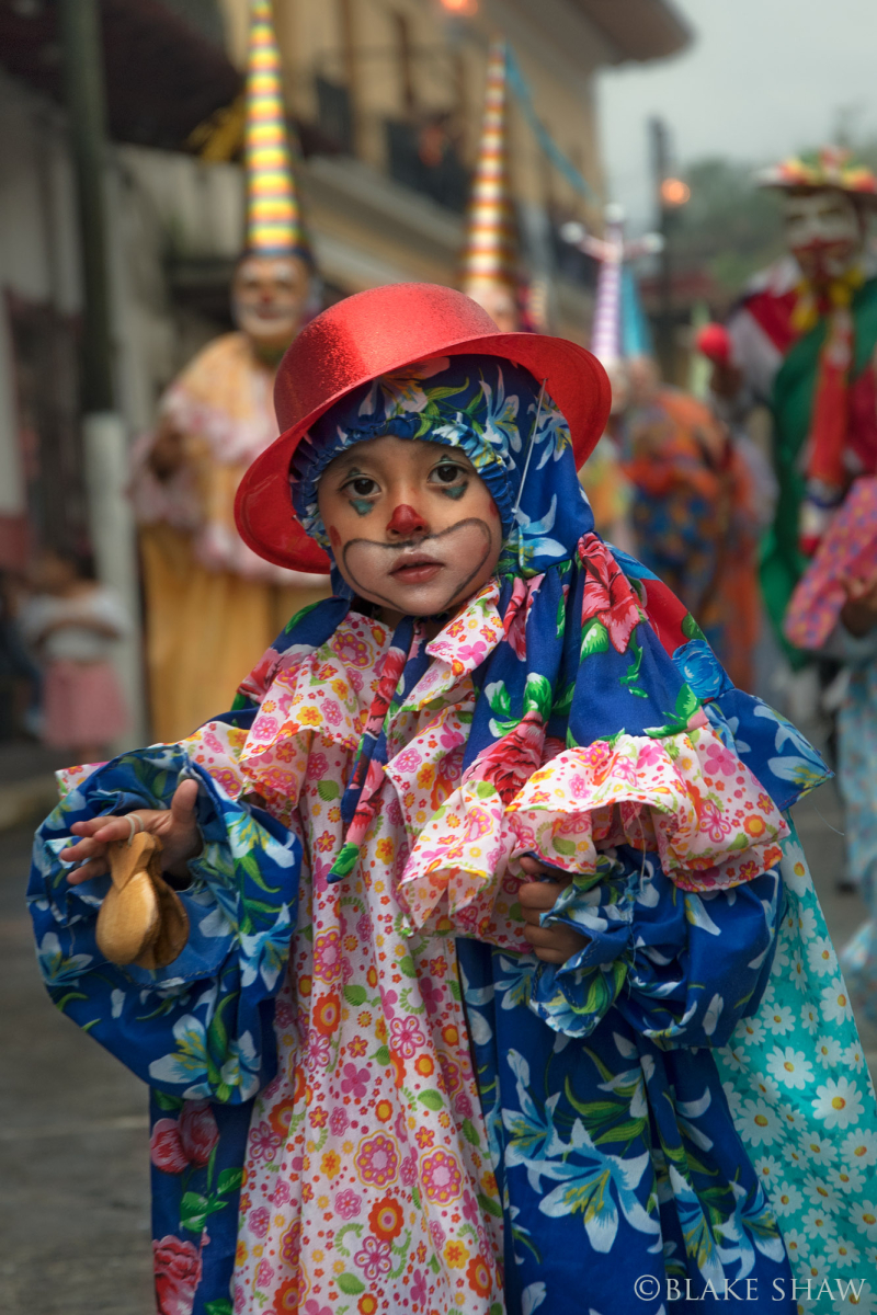 Coatepec boy clown