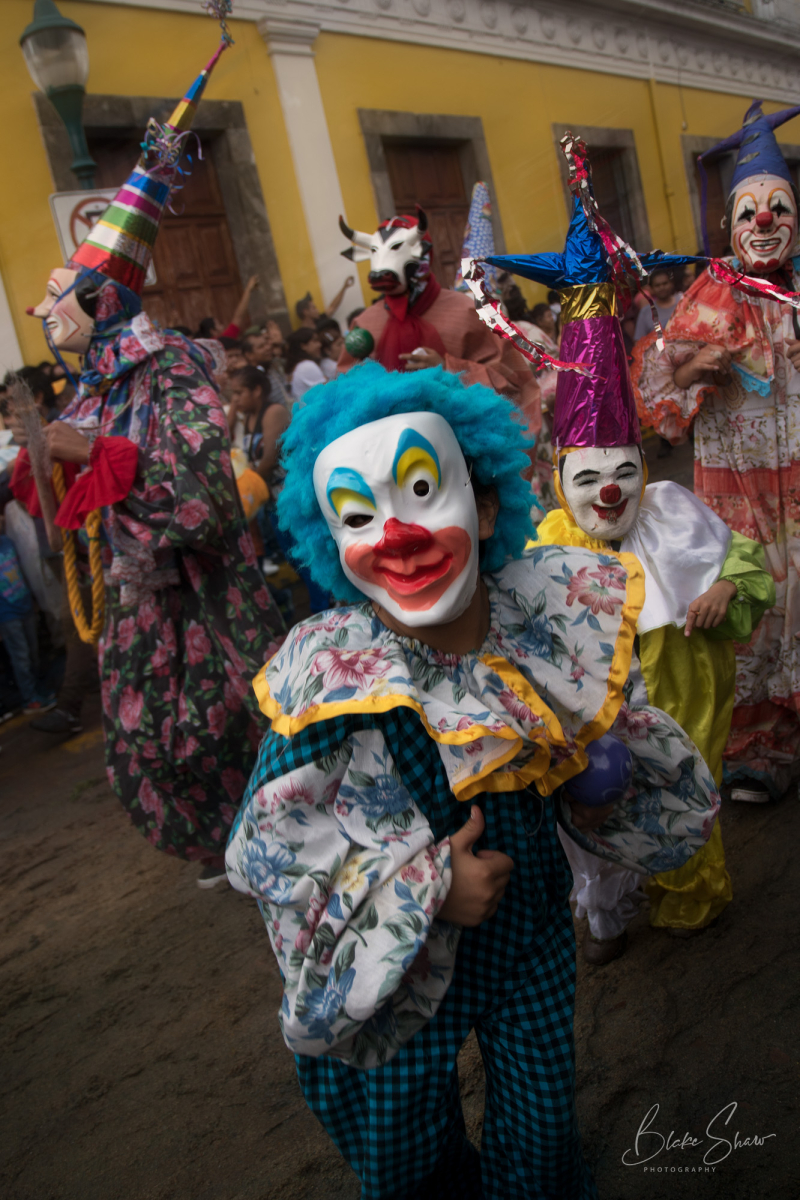 Coatepec clowns 6