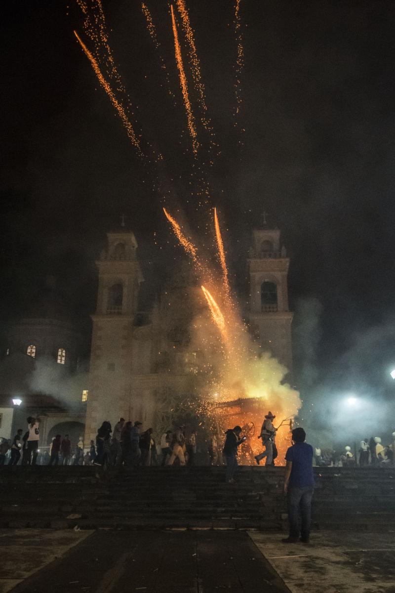 Xico fireworks