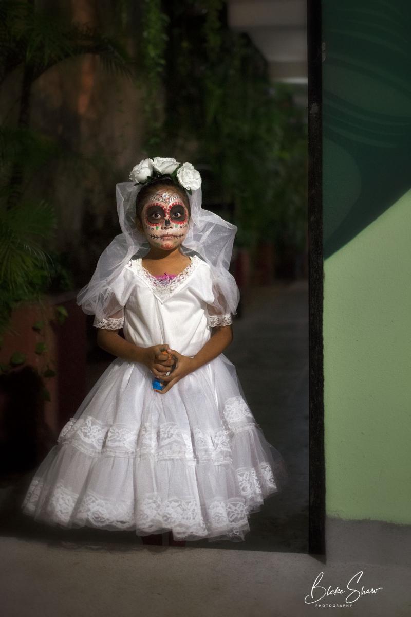 Xantolo bride