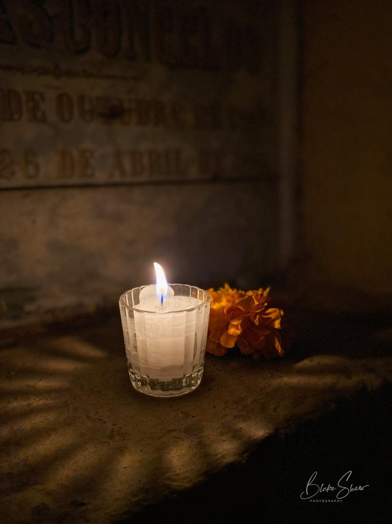 Oaxaca candle 1