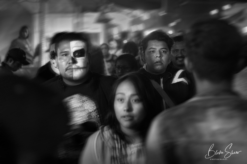 Faces in the crowd