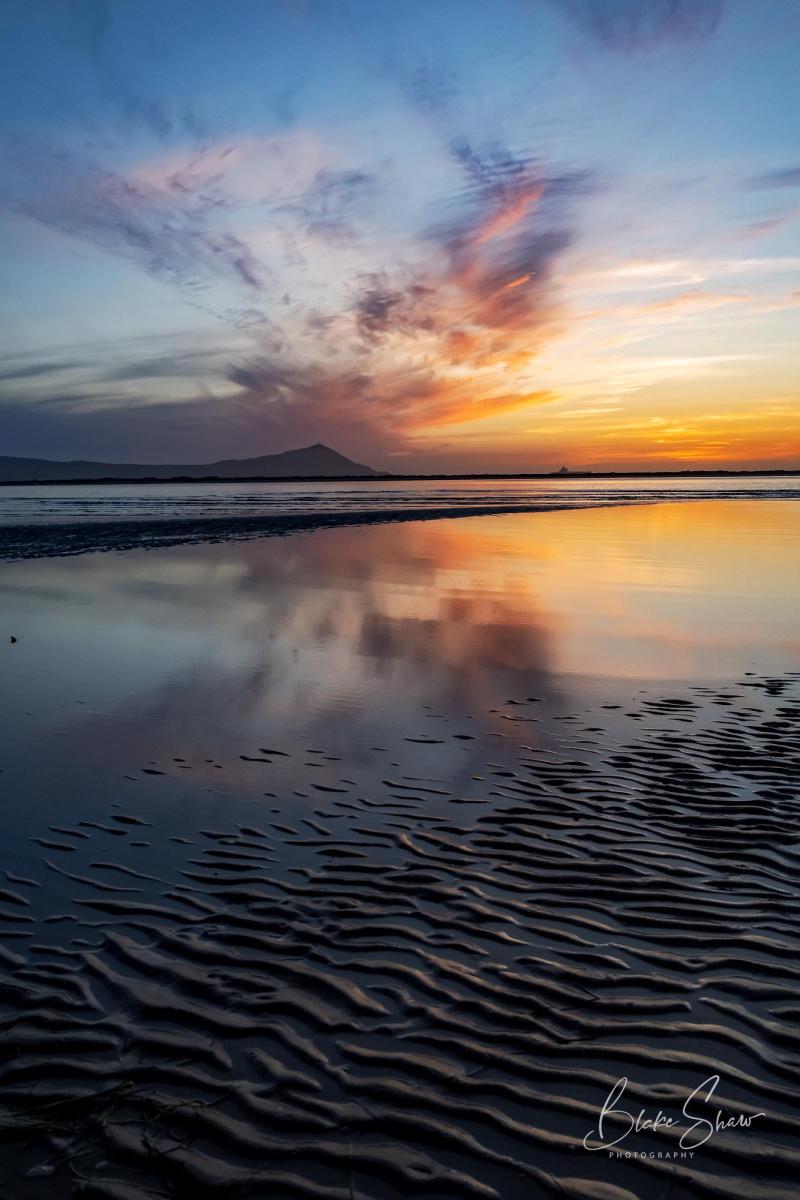 Estero beach sunset blake shaw
