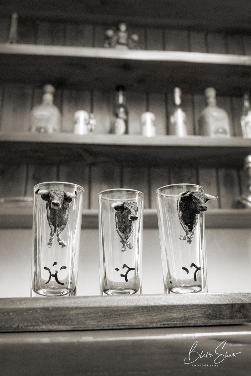 Tepetzala shot glasses